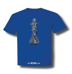 Pieces Chess King .... this king is made of pieces of past victories. © Wit-T-Shirt ... Get yours at http://wit-t-shirt.com/products/pieces-chess-king