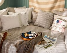 Authentic Herringbone Stripe Bedding
