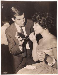 Connie Francis with George Hamilton
