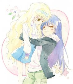Rima and Nagihiko~Unexpectedly Cute