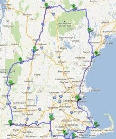 New England States - Two Week Fall Foliage Driving Tour