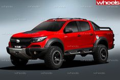 HOLDEN Special Vehicles' future is just weeks away from being locked down, with the performance sub-brand set to resign with the Walkinshaw Group for a five-year deal. Big Trucks, Chevy Trucks, 4x4 Tires, Holden Colorado, Rich List, Gmc Canyon, Trophy Truck, Chevrolet Colorado, Sub Brands