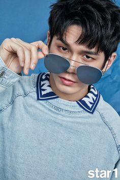 Seongwoo Magazine Photoshoot Star1