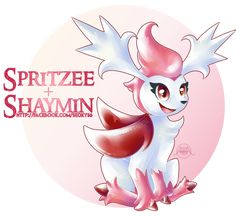 Shaymin X Spritzee [open] by Seoxys6.deviantart.com on @DeviantArt