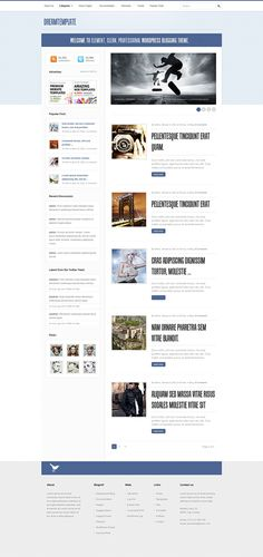 BrowseJam - Free WordPress Theme