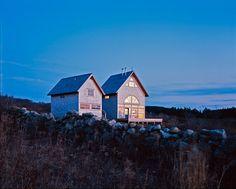Coxe-Hayden House & Studio by Robert Venturi on Block Island
