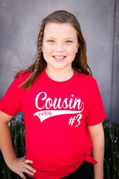 Cousins Photos with Matching Shirts: 2019 Version Shirts For Teens, Kids Shirts, Teen Shirts, Cousin Tshirts, Cousin Pictures, Family Reunion Shirts, Mothers Day Shirts, Vacation Shirts, Easter Outfit