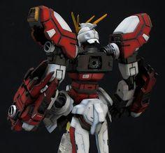GUNDAM GUY: GF13-017NJII Burning Gundam - Custom Build