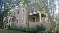 """SATURDAY, NOVEMBER 12, 2016 2:00 - 3:30 pm 15 Warren Place, Weston, MA 02494 NEW LISTING, SEE VIDEO! Charming three bedroom home with fabulous in-town location. New roof, updated gas heat with newer furnace and upgraded electrical panel. Lovely lot with level back yard with matures trees. House is being sold """"AS IS,"""" build new or renovate. https://www.youtube.com/watch?v=4JdmE1ozDvg"""