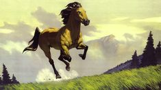 Spirit Stallion of the Cimarron - Concept Art.