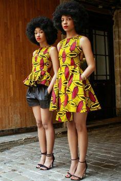 20 jolies modèles de robes en pagne