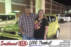 https://flic.kr/p/BFJEuP | Congratulations Douglas on your #Kia #Soul from Don Weintraub at Southwest KIA Rockwall! | deliverymaxx.com/DealerReviews.aspx?DealerCode=TYEE