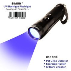 Ultraviolet Blacklight Flashlights with multiple uses. Best UV Black Light for Detecting DRY Cat & Dog Urine. Get Yours Here Now! --> http://www.amazon.com/Black-Light-Flashlight-Urine-Detector/dp/B00GOL1VRU #uvblacklight ONLY $19.99