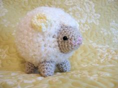 Amigurumi Crochet Pattern - Sheep Cloud