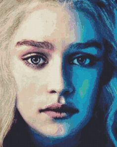 Daenerys Targaryen Cross Stitch