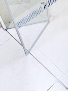 Sprchové dveře Anima SK skládací 100 cm, čiré sklo, chrom profil, univerzální