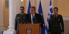 e-Pontos.gr: Π. Καμμένος: Σήμερα ως Ένοπλες Δυνάμεις, τιμούμε τ...