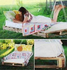 Pallet hammock