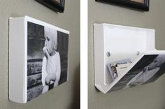 While DVDs have pretty much taken over from video cassettes, I guarantee that more than a few people still have videos or cases lying around in a cupboard somewhere. Here's a way to make stylish art that doubles as a secret compartment from Divaani. Insert an image or photograph in the cover and screw the video case to the wall. Presto!