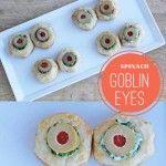 Halloween Appetizer :: Goblin Eyes!