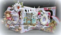 Scrapcard Addiction: Zon, Zee en Strand bij Time for Magnolia Challenge