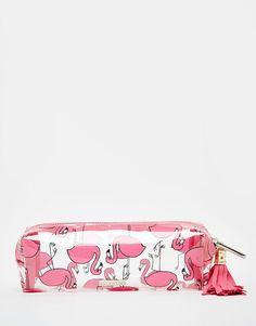 Material Escolar Estojo de Flamingo