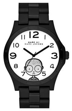 MARC BY MARC JACOBS 'Miss Marc - Large Henry' Watch: Love the quirky iconic Miss March. #200. #Watch #Marc_Jacobs