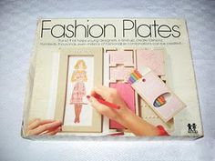 Fashion Plates...a Christmas gift. My brother had the Mighty Men and Monster Maker version haha