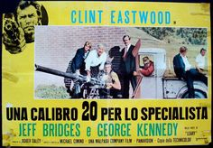 Thunderbolt & Lightfoot Italian fotobusta poster. Clint Eastwood