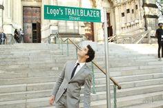 Darren Criss at Logo's 2017 Trailblazer Honors