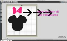 Minnie Mouse Silhouette File
