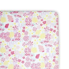 Weegoamigo fitted cot sheet - Blooming Bunny from Milk Tooth  #easter #eastergifts #eastergiftideas