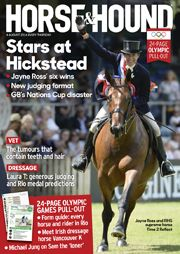 Find out what's in the 4 August issue of Horse & Hound: http://www.horseandhound.co.uk/publication/horse-and-hound-magazine/horse-4-august-2016