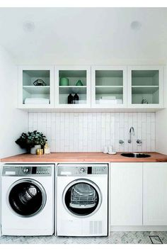 Small space laundry renovations: how to fit a laundry into any space in your home | Home Beautiful Magazine Australia