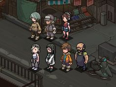 Pixel Life, Pip Boy, Pixel Characters, Pixel Art Games, Game Dev, Slg, 8 Bit, Game Design, Art Tutorials