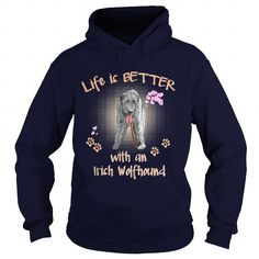 I Love Irish Wolfhound Life Is Better With An Irish Wolfhound Dog T-Shirts