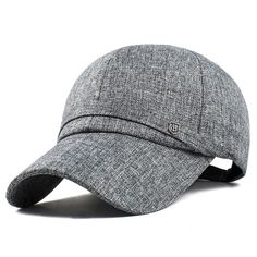 Cheap Men's Accessories, Buy Quality Hats and Caps directly from China Hats and Caps Suppliers: Men Cotton Baseball Cap Adjustable Winter Warm Golf Outdoor Sports Hat Outdoor Shade, Hats Online, Golf Outfit, Hats For Men, Hat Men, Beanie Hats, Linen Fabric, Cotton, Baseball Caps