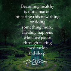 Fasting and meditation are two of those modalities that science are telling us we need to do to stay healthy and extend our lives. Pausing is critical to all the doing that we do.   #meditation #heal #health #mindset #mindbodysoul #fasting #autophagy