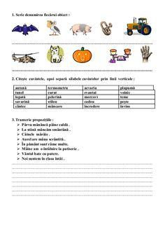 6654510 fise-limba-romana-clasa-i School Lessons, Preschool Activities, David, Education, Children, Young Children, Boys, Kids, Onderwijs
