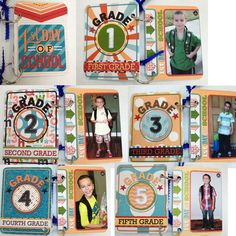 First Day of School Mini Album :: Project Life sized cards :: The Sweet Shoppe Gallery
