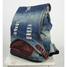 Denim jeans bag