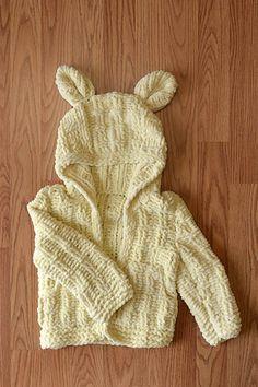 Free Universal Yarn Pattern : Little Cub Hoodie
