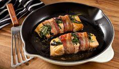 Maple Bacon-Wrapped Salmon