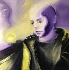 Hypnosis, olio su tela 100 X 100 cm, 2017