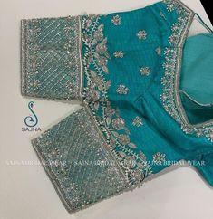 Kalamkari Blouse Designs, Sari Blouse Designs, Designer Blouse Patterns, Black Blouse Designs, Hand Work Blouse Design, Stylish Blouse Design, Blouse Designs Catalogue, Maggam Works, Silver Work