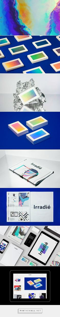 interesting way to incorporate colors of the brain scan into branding. We can create one image, and use it as backgrounds for knockout logotype, text on the site, backs of business cards, etc.