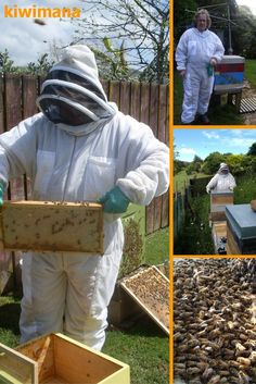 Ventilated Beekeeping Suit - The kiwibreeze bee suit is excellent for hot beekeeping, it keeps you cool while you inspect your bee colonies. The surrounding breeze helps you to cool you down and the fabric protects from stings.