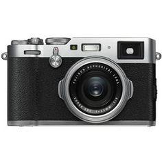 X100F 24.3MP Digital Camera, Fujinon 23mm f/2 Lens, Silver