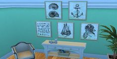 Mod The Sims - Knotty Paintings