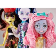 Monster High Boo York Boo York City Ghouls 3 Pack